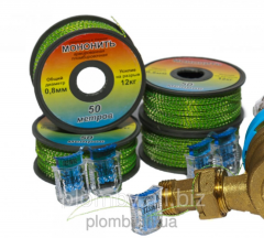 The monothread reinforced 0, 66 mm the reel...