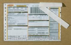 Forfait per accompagnamento documenti p-5 SD, SD pacchetto 160 x 240 mm