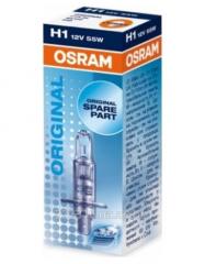 Galogenovy lamp of Osram H1 12V 55W