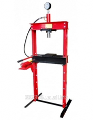 Hydraulic press of 10 t of Intertool GT0704