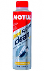 Cleaner of an injector of Motul Diesel System