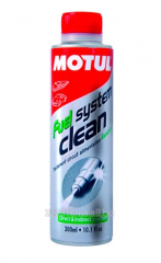 Cleaner of an injector of Motul Fuel System Clean