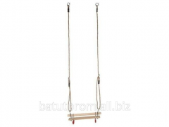 Kit 3 in 1: horizontal bar, rings, seat swing