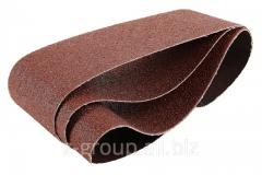 Лента шкурка шлифовальная водостойкая на тканевой основе бесконечная