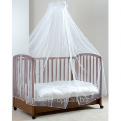 Canopy tulle for a bed, with the holder of