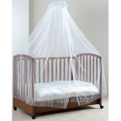 Балдахин тюлевый для кроватки, с держателем