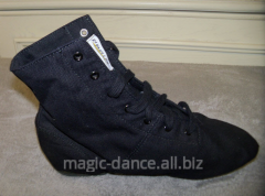Jazz shoes are high fabric