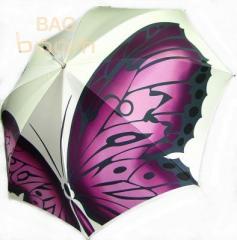 Женский зонт DOPPLER (артикул 12021 розовая бабочка)