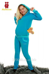 Sports suit velors for pregnant women