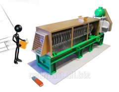 Model of the equipment of Maslopress