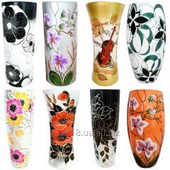 The vase is decorative