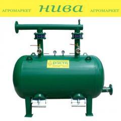 Фильтр гравийный горизонтальный 60кубометров 3 дюйма ФГ-60/3 Роста