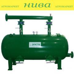 Фильтр гравийный горизонтальный 80кубометров 4 дюйма ФГ-80/4 Роста