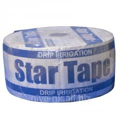 Капельная лента Стар Тейп Star Tape 8 mil через