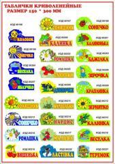 Plates for kindergarten