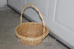 Подарочная корзина Новинка, изделия из лозы своими