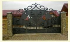 Profiles for gate, Accessories and accessories for