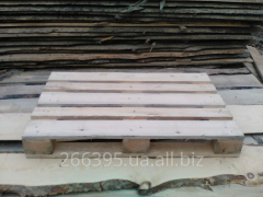 Pallets stone blocks, cargo for transportation,