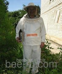 The beekeeper's suit grid on lightning -