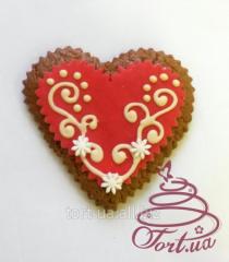 Easter Heart gingerbread