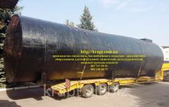 Резервуар для хранения ГСМ 100 м.куб