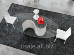 Стеклянный стол Infini