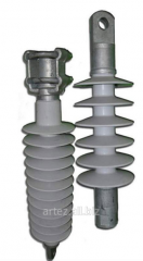 Insulators for a contact network of the railroads