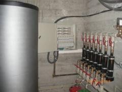 Autonomous modular electroheating installations