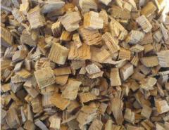 Щепа топливная (дуб, граб, сосна)