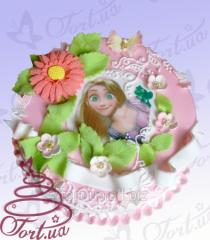 Children's Corn salad cake