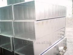 Air ducts and shaped parts, round and rectangular
