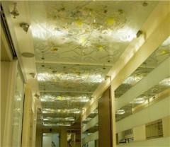 Потолки со стеклом