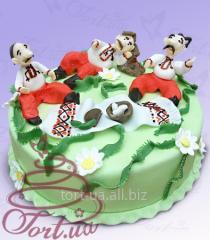 """Cake on zamovlennya """"Kozaka"""