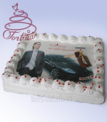 """Cake to order """"Key from dream"""