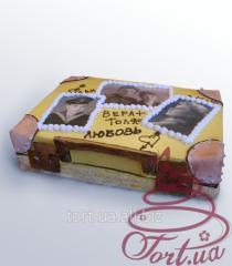 "Cake to order ""Suitcase"