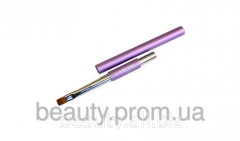 Brush No. 6 SM synthetics for modeling of nails