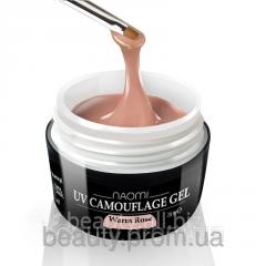 Camouflage gel, color: warm rose of UV Camouflage