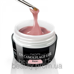 Camouflage gel, color: pink UV Camouflage Rose