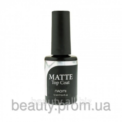 Finishing covering of Top coat Matte of 12 ml of