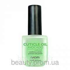 Nail oil and cuticles with avocado of 15 ml NAOMI