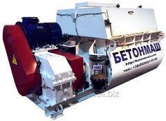 Бетоносмеситель двухвальный БП-2Г-1500
