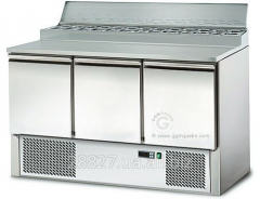 Saladetta/table refrigerating procuring 3-door