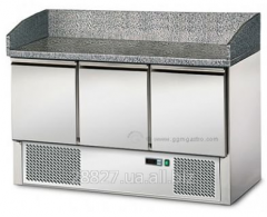 Refrigerating table for pizza 3-door