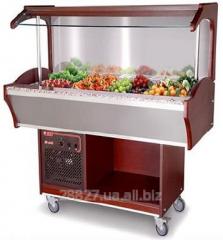 Salad bar refrigerating