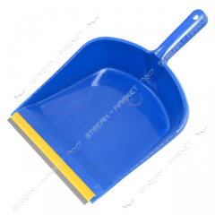 Scoop for garbage with an elastic band
