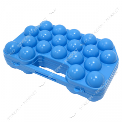Tray for eggs on 20 pieces.