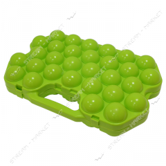 Tray for eggs on 30 pieces.