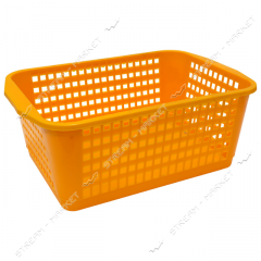 Basket plastic for fruit and vegetables (lattice)