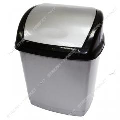 Bucket plastic envelope of 9 l. (gray-black)