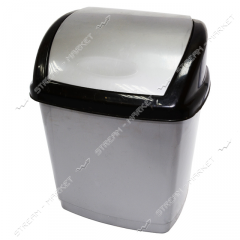 Bucket plastic envelope of 16 l. (gray-black)